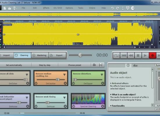 Скачать бесплатно magix audio cleaning lab - это мощный инструмент для