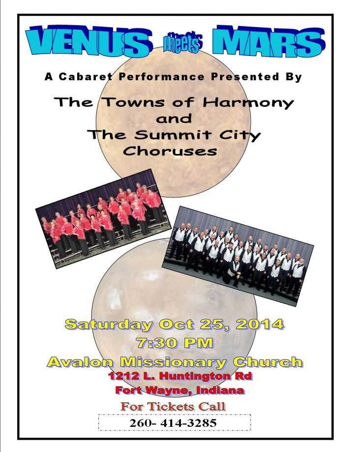 Fort Wayne Chapter Cabaret 2014