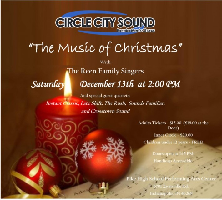 Circle City Sound Christmas Show 2014