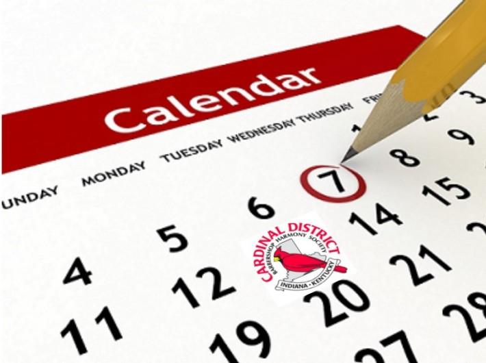 Cardinal District Events Calendar