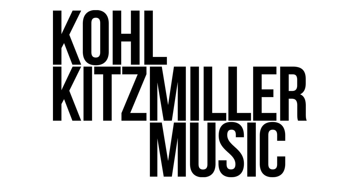 Kohl Kitzmiller Music Logo